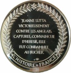 jeanne d'arc numismatique histoire de France